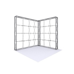 10ft Lumière Wall® Configuration A - NO BACKLIT (Graphic Package)