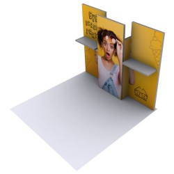 Modco Modular 3 - 10x10 Graphic Package