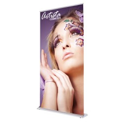 SilverStep 48x92 Retractable Banner Stand